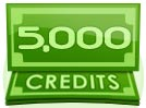 5,000 Credit Interactive Party Tip