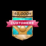 10,000+ Customers