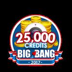 4th of July 25,000 Credits
