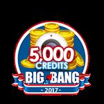 4th of July 5,000 Credits