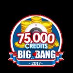 4th of July 75,000 Credits