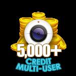 5,000+ Credit Multi-User Show
