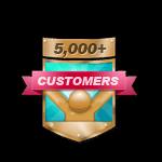 5,000+ Customers