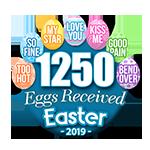 1,250 Eggs
