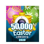 Easter 50,000 Credits