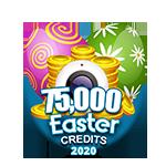 Easter 75,000 Credits