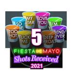 5 Shots