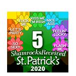 5 Shamrocks