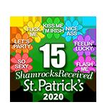 15 Shamrocks