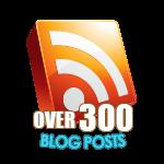 300 Blog Posts