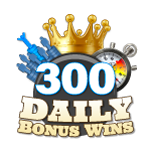 300 Daily Bonus Wins