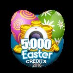 Easter 5,000 Credits