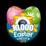 Easter 10,000 Credits