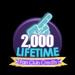 2k Lifetime Fan Club Credits
