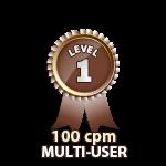 Multi-User 100cpm - Level 1