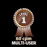 Multi-User 60cpm - Level 1