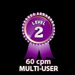 Multi-User 60cpm - Level 2