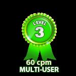 Multi-User 60cpm - Level 3
