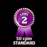 Standard 50cpm - Level 2