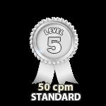 Standard 50cpm - Level 5