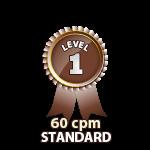 Standard 60cpm - Level 1