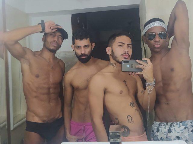 Sahir And Marcelo And David And Rodrigo