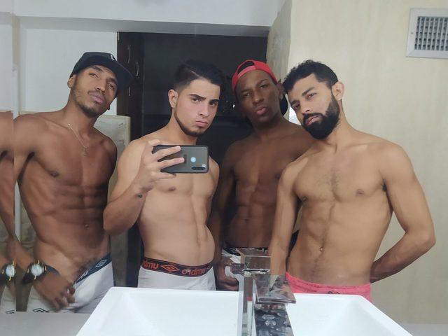 Sahir & Marcelo & David & Rodrigo