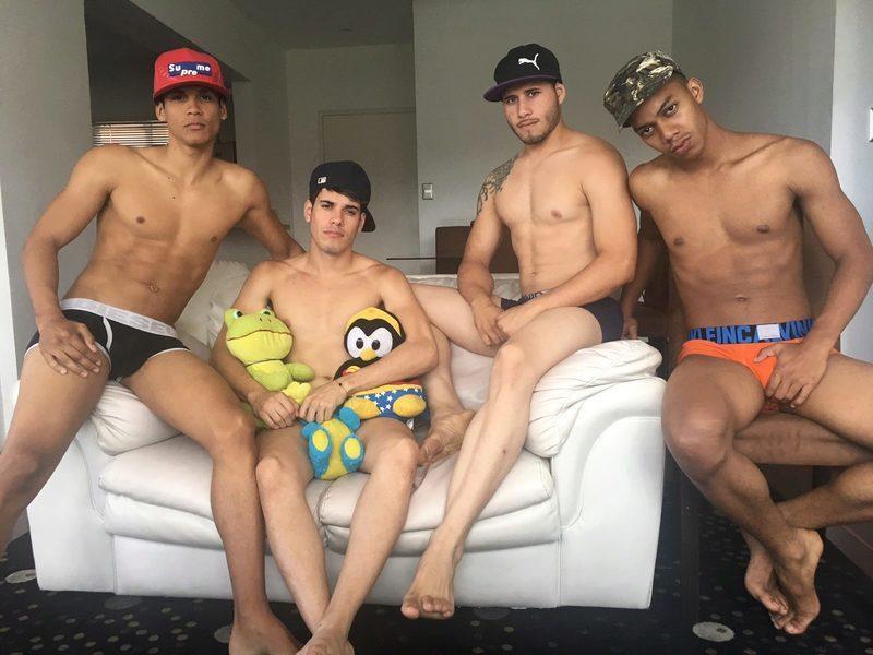 Fer & Maxs & Terry & Zabi's Cam Sex Chat