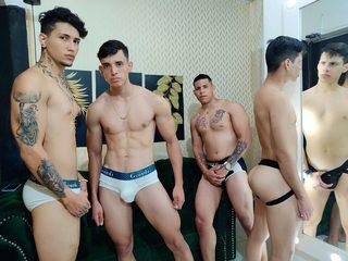 Sean & Ignacio & Paulo & Bryan