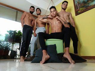 Andrew & Fabian & Gabriel & Sahir