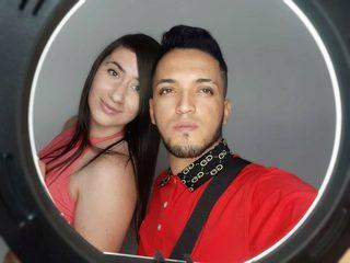 Asly Saenz & Nick Velez