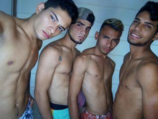 Andrew & Fabian & Gabriel & Eduard