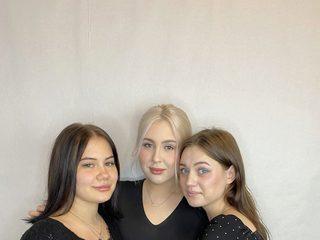 Gloriya & Kaily & Kimberly Live