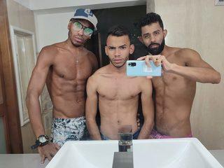 Sahir & Eduard & Marcelo image