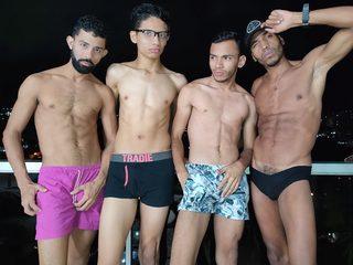 Sahir & Joaquin & Eduard & Marcelo image