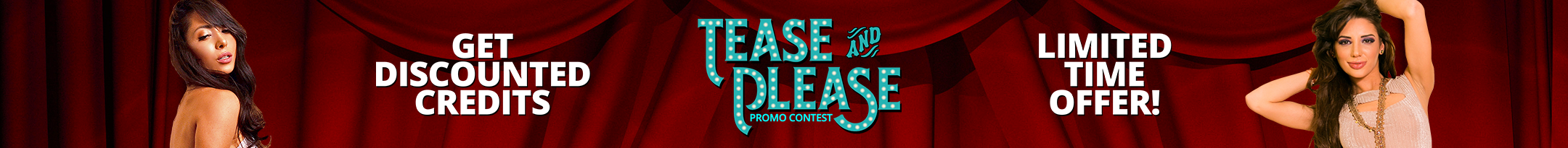 Tease and Please Promo
